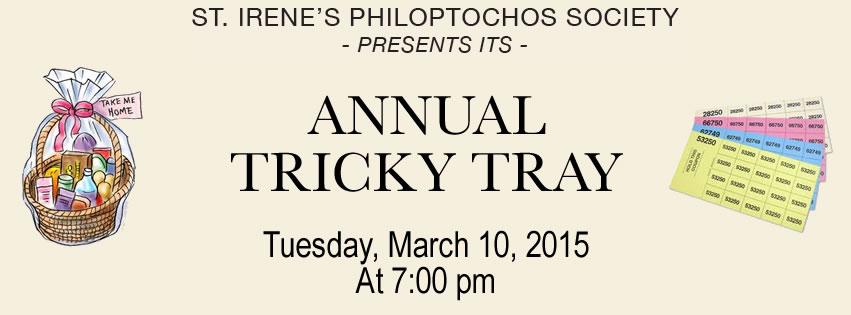 2015 Tricky Tray